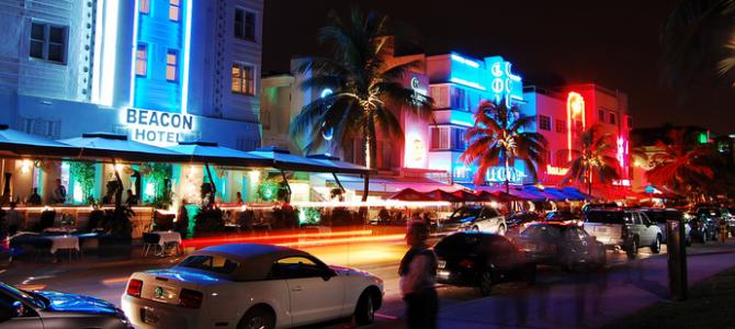 Das Nachtleben von Miami Beach