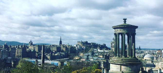Falling in love with Edinburgh