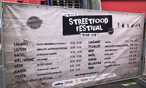 Street Food Festivals in der Schweiz