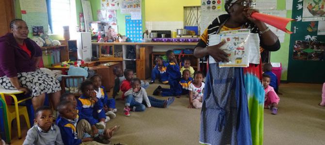 Freiwilligen Arbeit in Südafrika